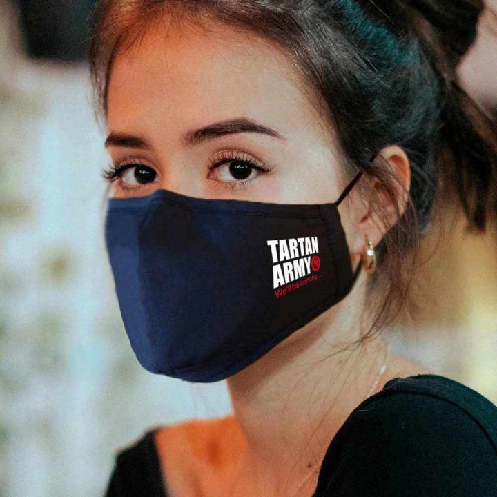 Tartan Army Navy Face Mask (Unisex)