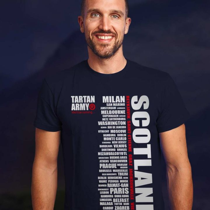 Tartan Army Navy City T-Shirt